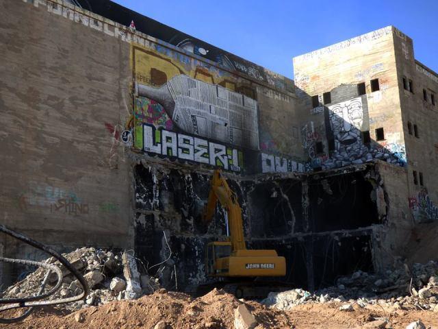 La Maltera a punto de derrumbarse y las autoridades no dice nada y mucho menos hacen para evitar la destrucción de este edificio que es testigo de la época industrial de Mexicali en el ramo cervecero.