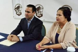 Asociación de Periodistas de Tijuana que preside la Maestra Bibi Gutiérrez.