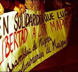 Solidaridad con los mapuches chilenos