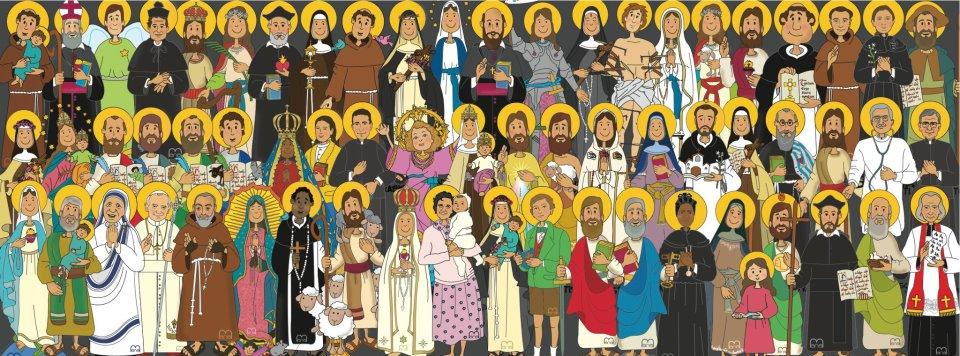 Resultado de imagen de dia de todos los santos para niños