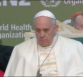 El Papa, ante la FAO