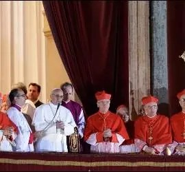 Bergoglio, tras su elección