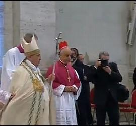 El Papa, hoy