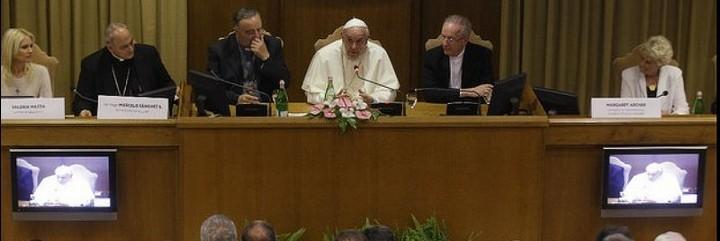 El Papa, en su reunión con los alcaldes del mundo
