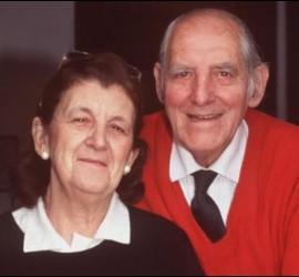 Jerónimo Podestá y su esposa