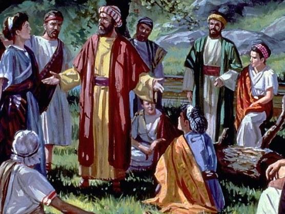 Resultado de imagen de pablo de tarso predicando