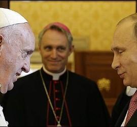 Papa Francisco y Putin