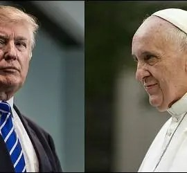 Donald Trump y el Papa Francisco