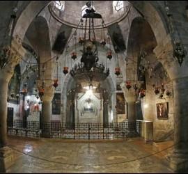 Interior del Santo Sepulcro