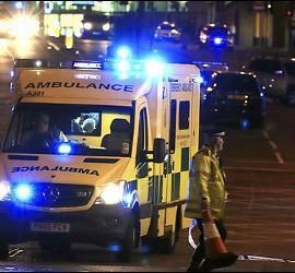 Ambulancias toman la ciudad de Manchester