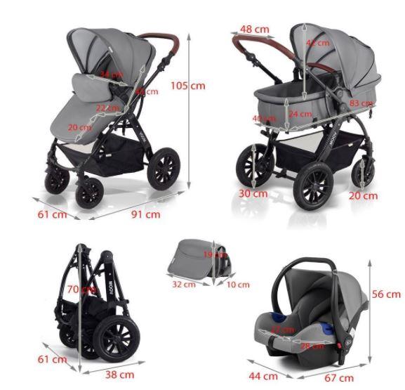 Los carritos de beb ms vendidos en Amazon  Ocio y