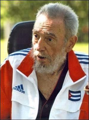 El Comandante apoyando a la selección cubana de petanca.