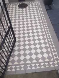 Victorian Geometric Floor Tiles - Outside Inspiration In ...