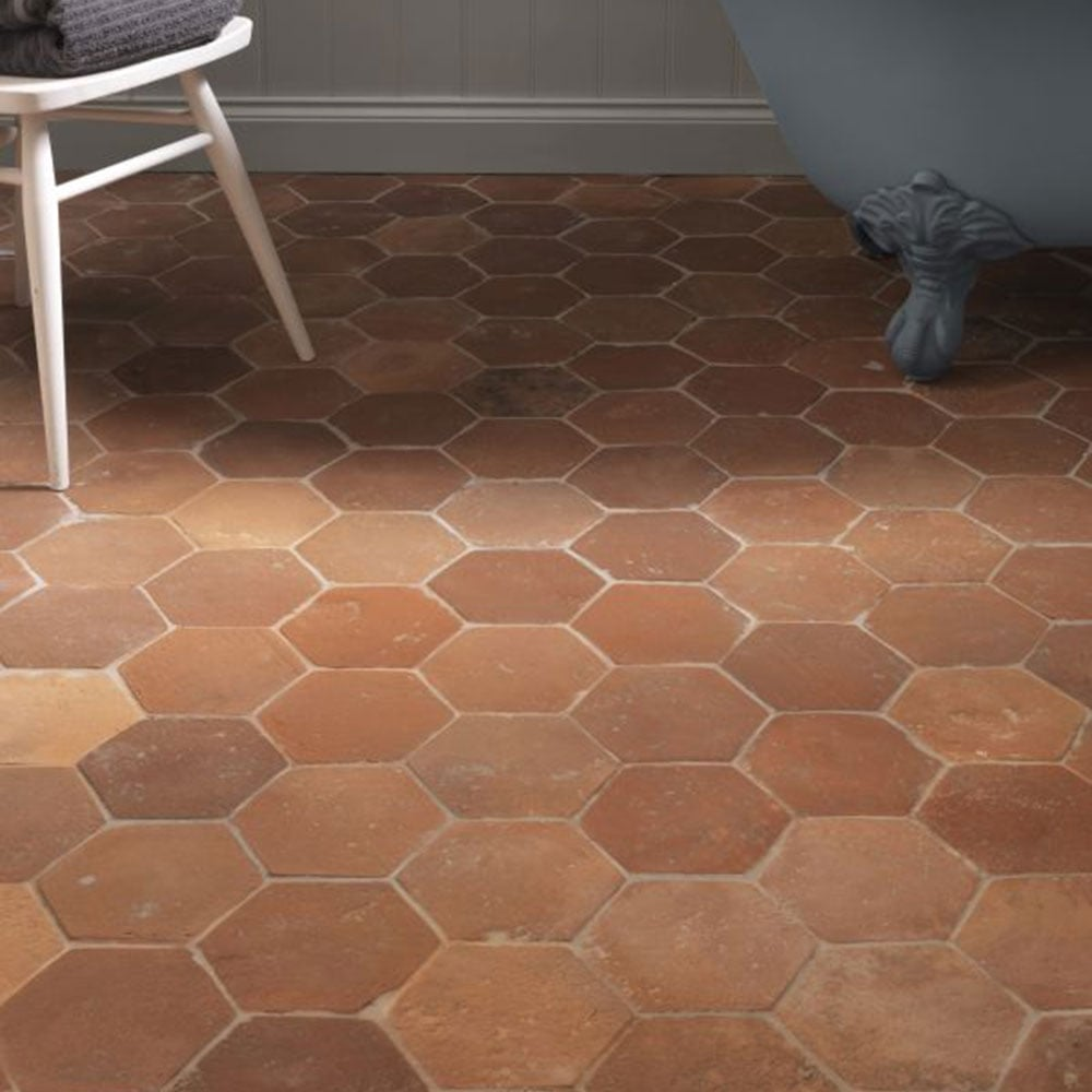 Antique Terracotta Tiles  Hexagon