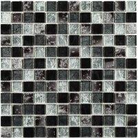 Classical Flagstones Ethan Black Mosaic Tiles