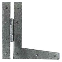 From The Anvil Handmade HL Hinge (pair) - Pewter