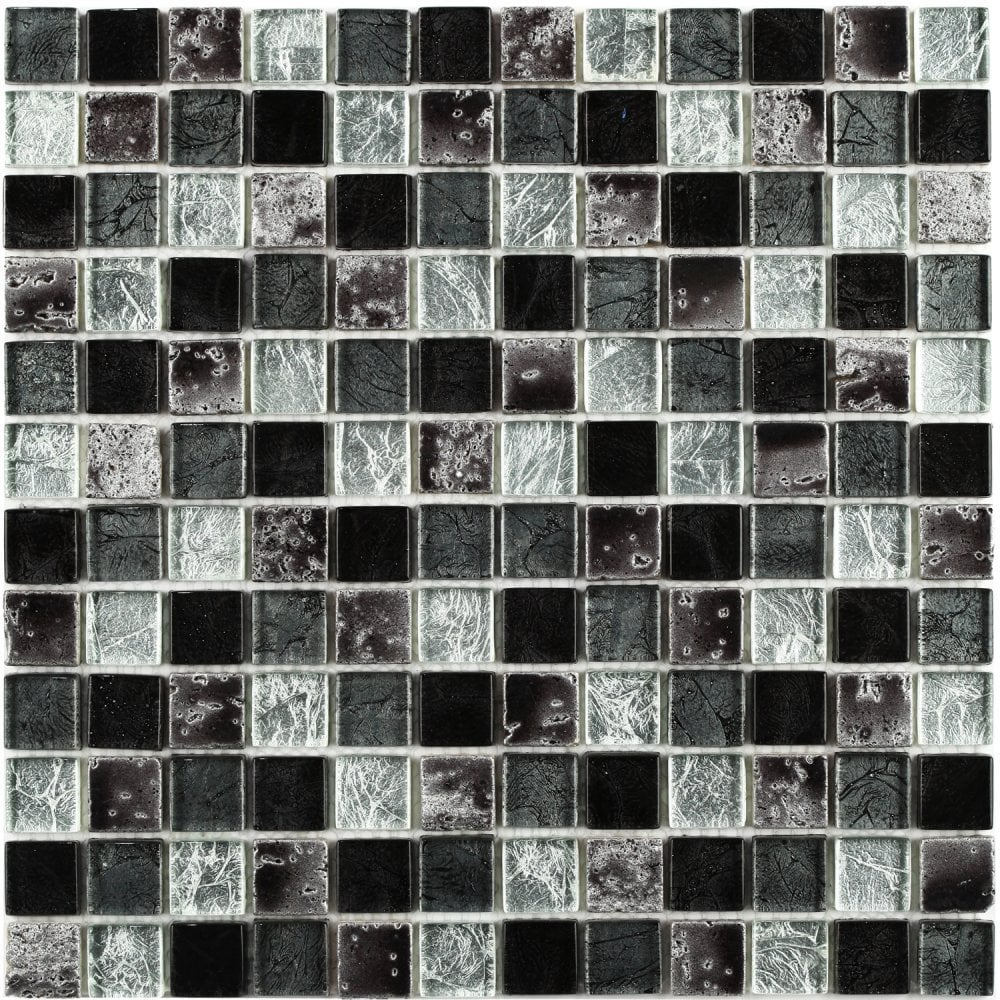 marshalls tile stone ethan black mosaic tiles