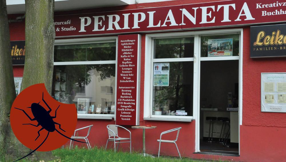 Periplaneta Verlag Berlin, Außenansicht