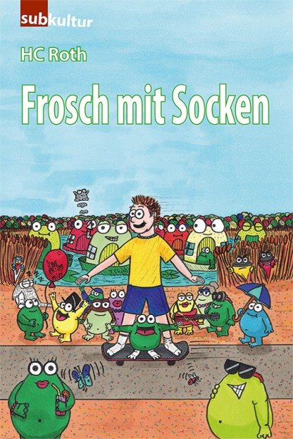 Frosch mit Socken