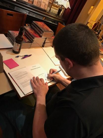 Clint Lukas signiert - periplaneta
