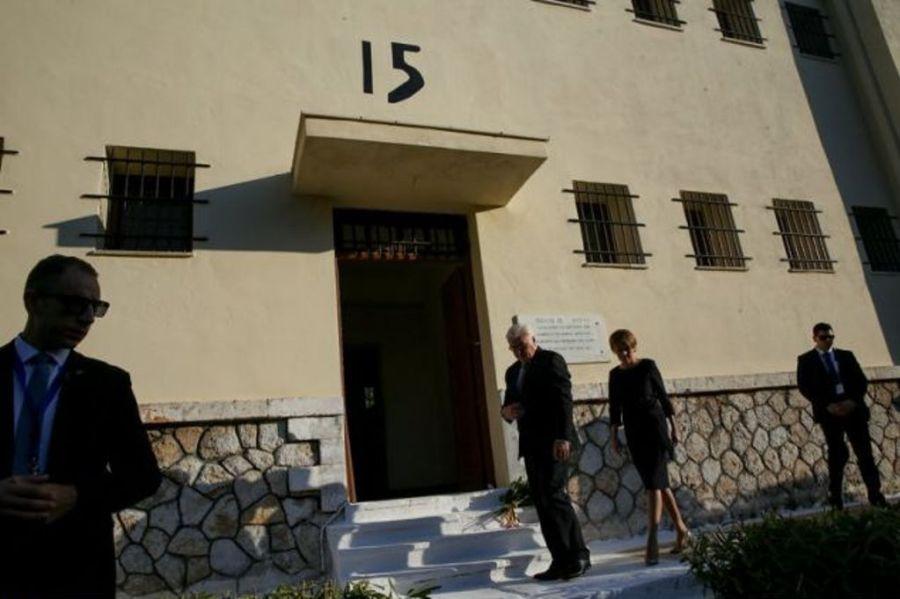 Επίσκεψη του Γερμανού Προέδρου Σταϊνμάιερ στο στρατόπεδο συγκέντρωσης στο Χαϊδάρι [φωτο]