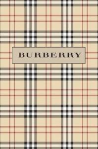 Tartán registrado Burberry