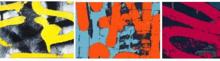 alfombras grafitis