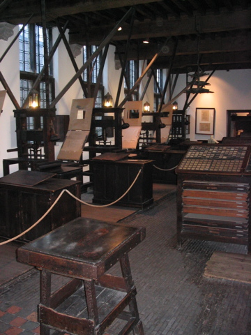 Plantin Press Room