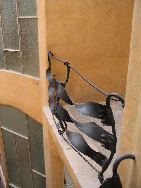 La Pedreda - balcony