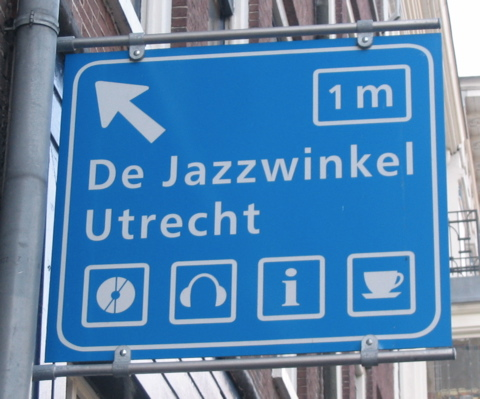 Jazzwinkel Sign