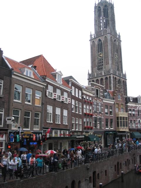Utrecht Oudegracht (today)
