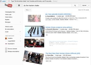 youtube do the harlem shake