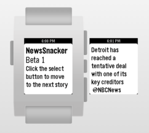 newsSnacker screenshot