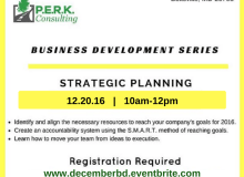 Business Development Series: Strategic Planning for 2017