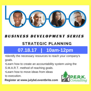 Business Development Workshop: Strategic Planning @ Main Office | Beltsville | Maryland | United States