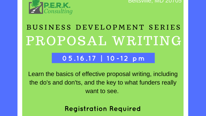 Business Development Workshop: Proposal Writing