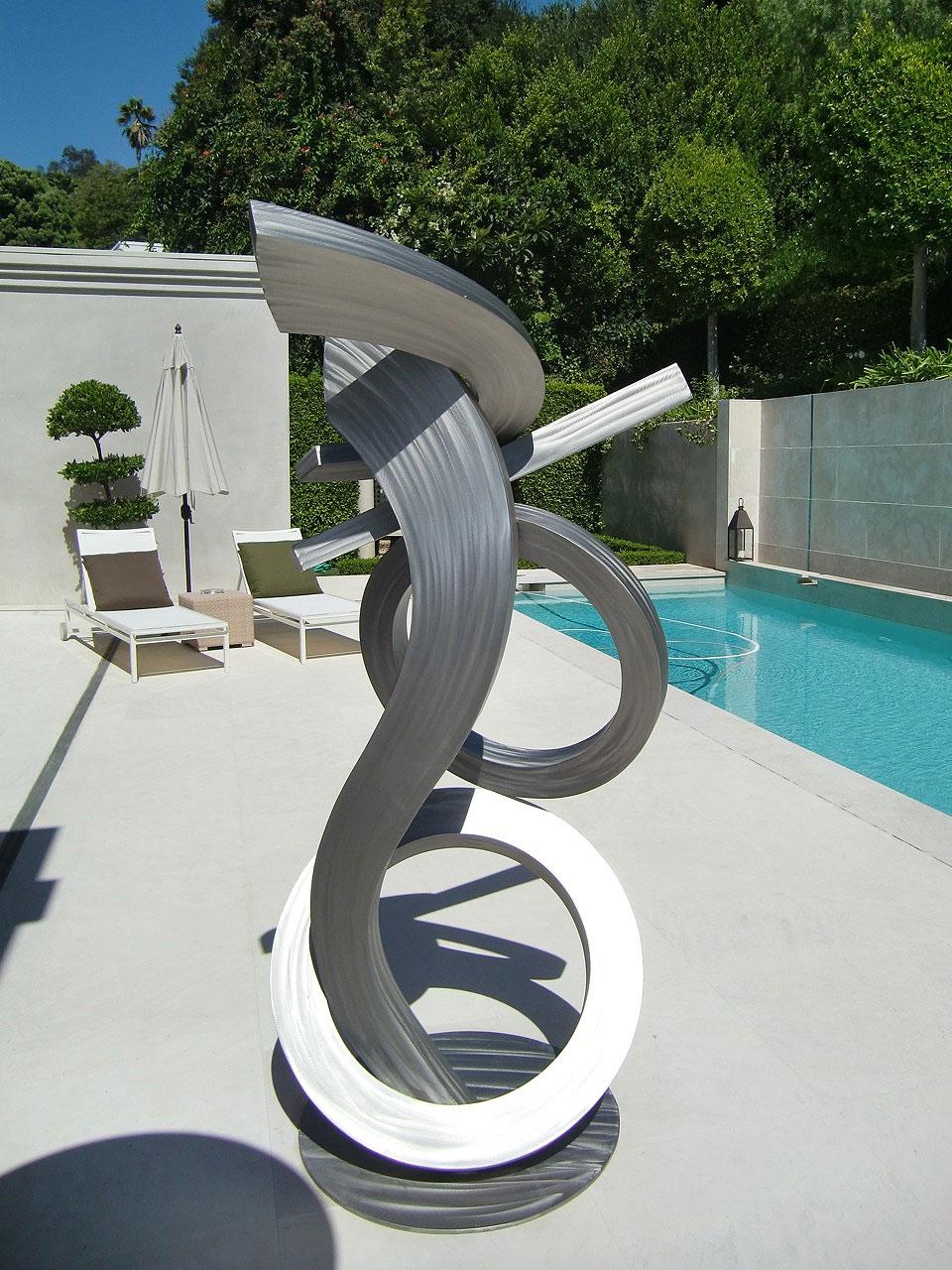 Brad Howe Stainless Steel Outdoor Sculpture