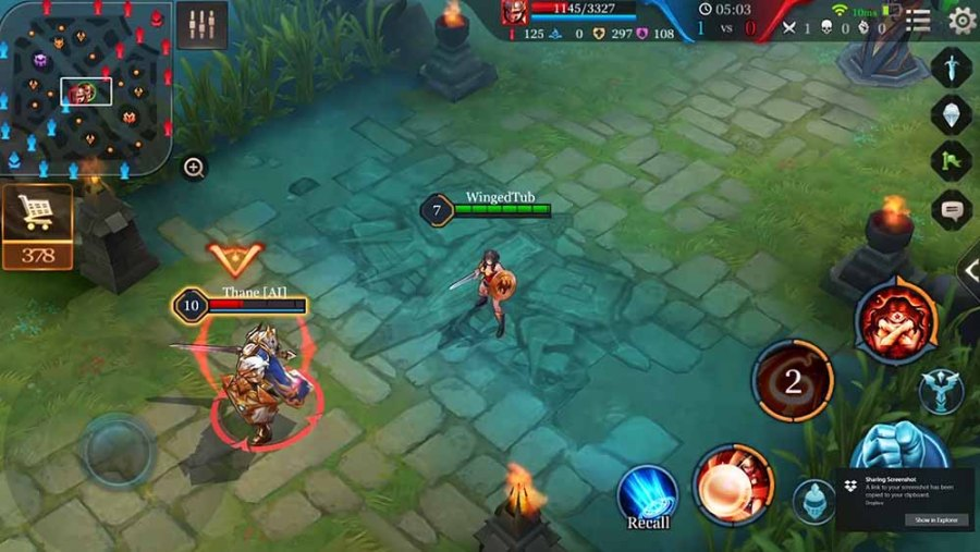 Arena of Valor Wonder Woman Gameplay