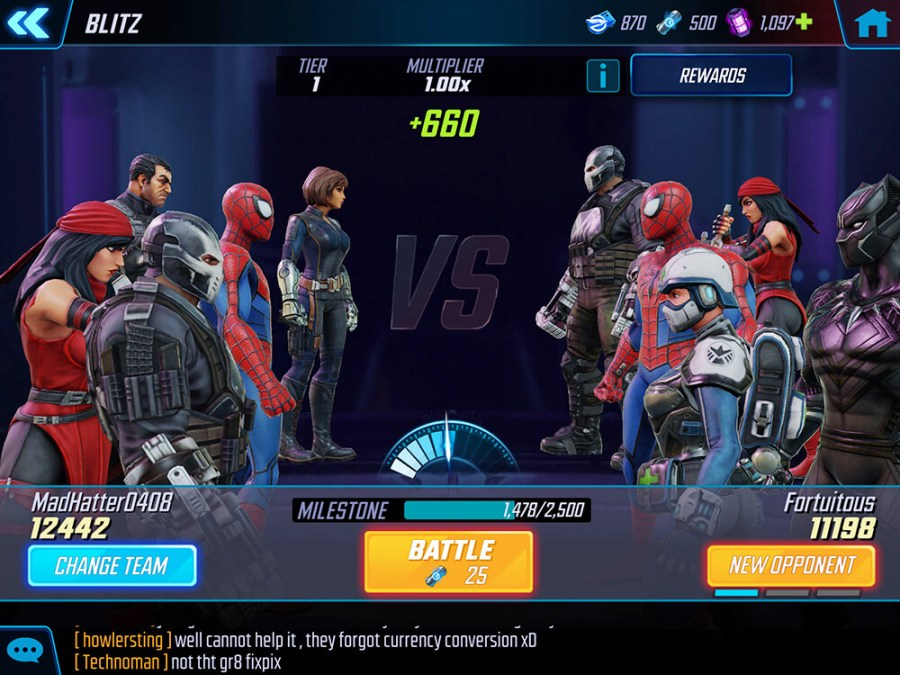 Marvel Strike Force Game Hack Free Gold Power Cores 1