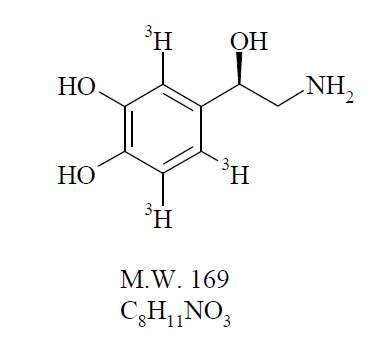 Norepinephrine, Levo-[ring-2,5,6-3H]-, 250µCi (9.25MBq