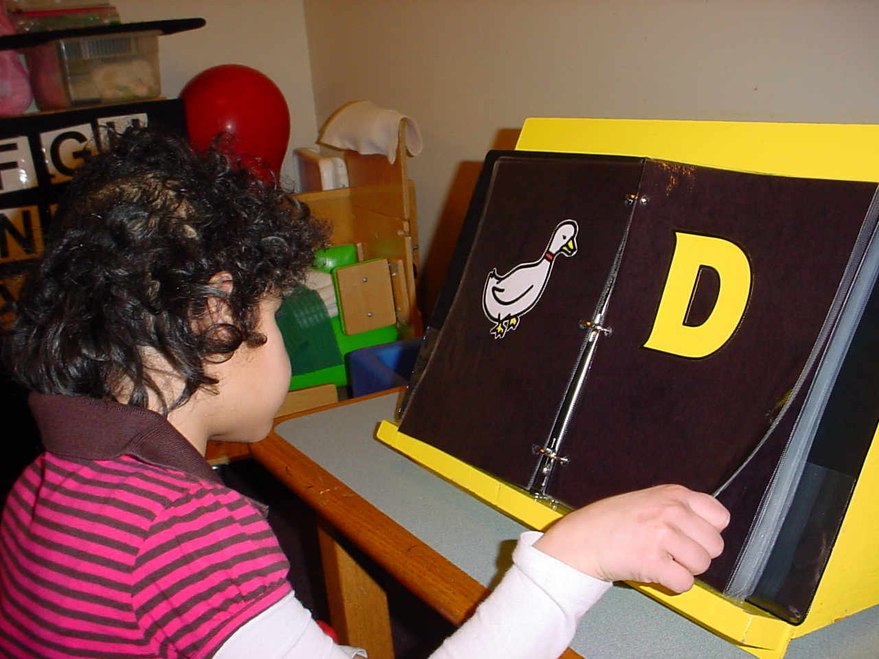 Teaching Letter Differentation To Students Who Are Blind Or Visually Impaired