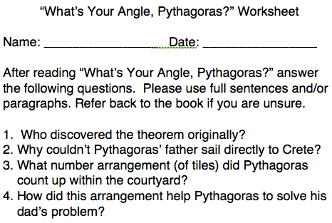 Right Angles And The Pythagorean Theorem
