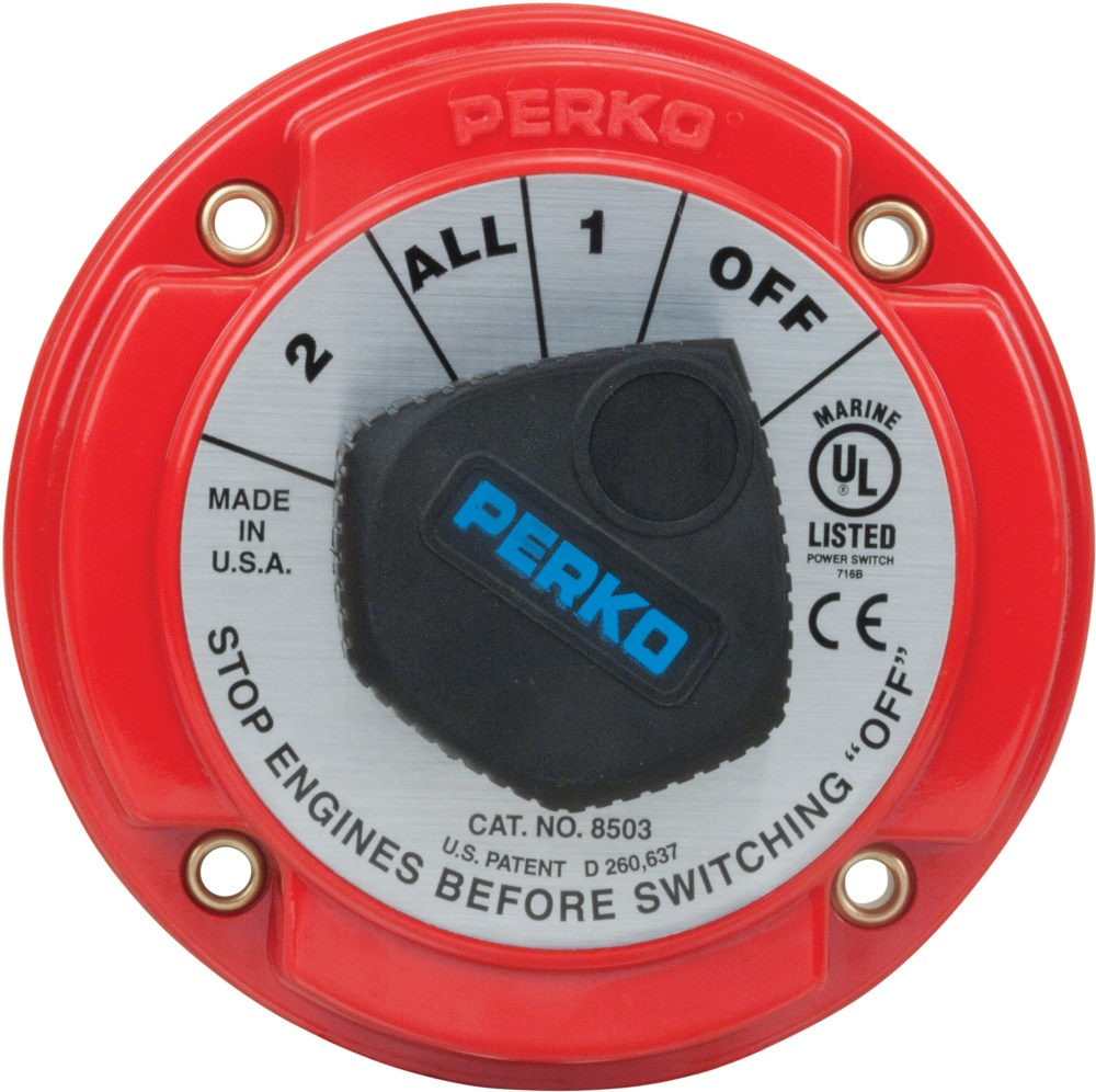 medium resolution of perko inc catalog battery switches medium duty battery selector switch with afd 8503