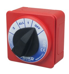 perko inc catalog battery switches compact medium duty battery selector switch 8511  [ 3396 x 3426 Pixel ]