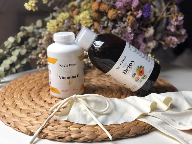 Vitamina C y detox de Navit Plus