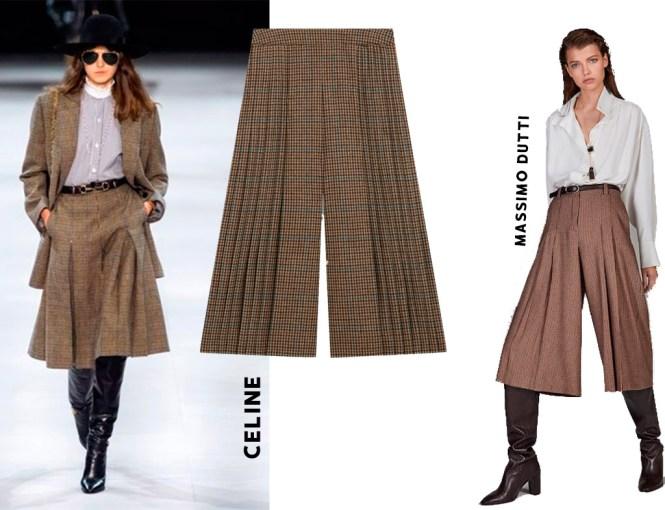 Clones del pantalón plisado que es tendencia