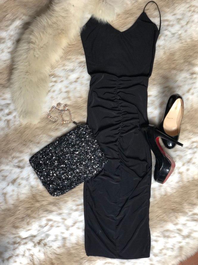 Vestido escote espalda Femme Luxe