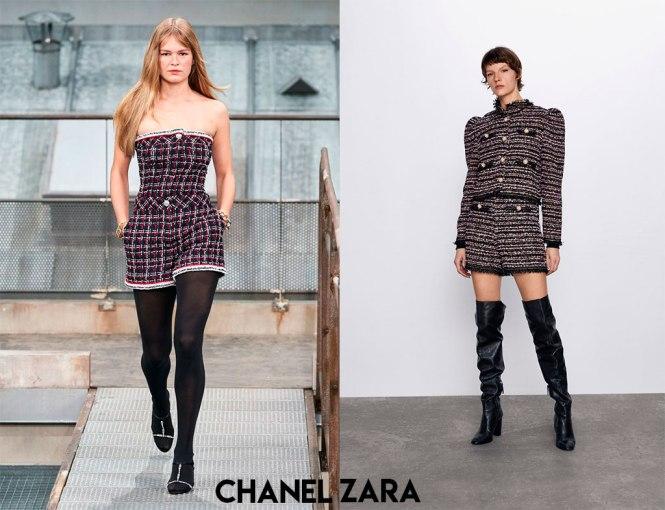 Chanel y su clon de Zara