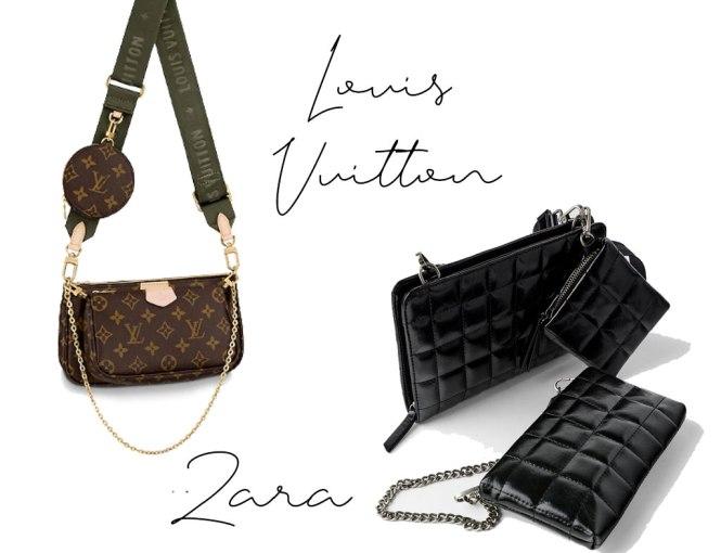 Clon del bolso multi pochete de Louis Vuitton