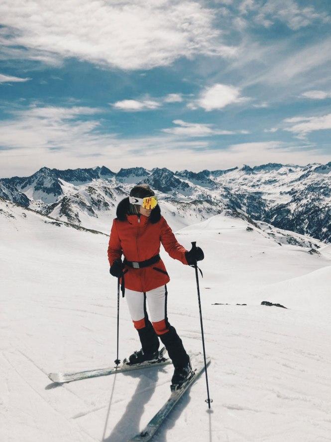 Mi deporte favorito, el esquí.